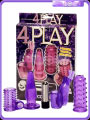 4 Play Set Anillas con Vibración