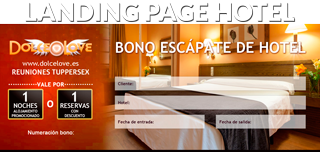 Landing Page Hotel