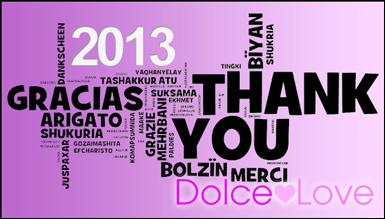 Dolce Love echa la vista atrás al 2013
