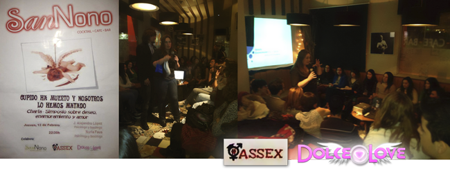 ASSEX y DOLCE LOVE con la Educación Sexual