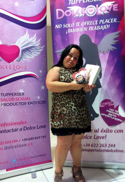 Nueva embajadora Dolce Love: Chiqui Martínez