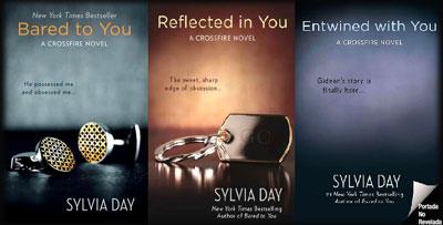 """Después De """"Cincuenta Sombras"""", """"Crossfire"""" De Sylvia Day"""