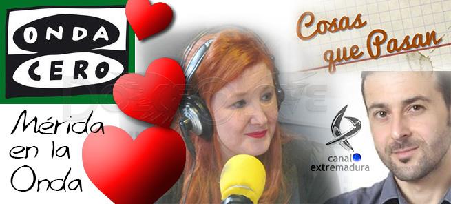 Dolce Love en las ondas de Canal Extremadura Radio y Onda Cero Mérida por San Valentín