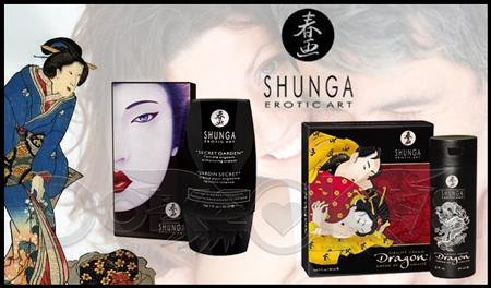 2 Productos Eróticos de Éxito: Jardín Secreto y Virility Dragon de Shunga