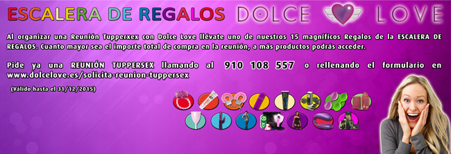 La escalera de color de Dolce Love, ¿te apuntas?