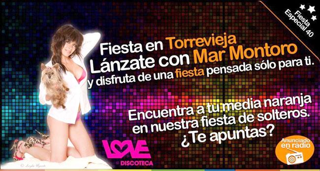 ¡Vente de fiesta con Dolce Love y Mar Montoro!